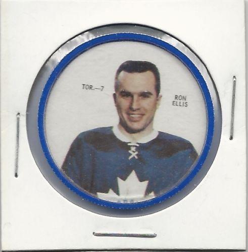 SP 1968-69 Shirriff Coin - Ron Ellis Toronto Maple Leafs # TOR-7 NM-MT