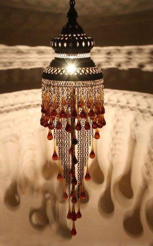 Klasik Taşlı Osmanlı Otantik Sarkıt 55cm #ottoman #osmanli #lighting #aydinlatma