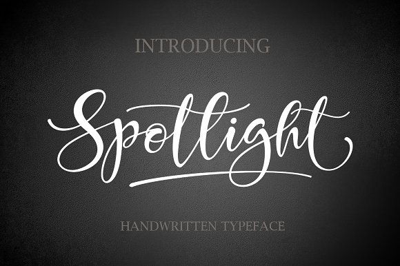 Spotlight by Byuly Ayika on @creativemarket