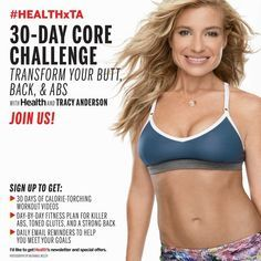 On 15th April Health Magazine started their Tracy Anderson 30 Day Core Challenge. Tracy is regularly featured in Health magazine and on their website so it's no surprise that they decided to …