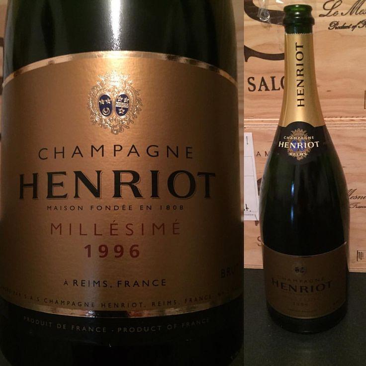 1996 Henriot Champagne Brut Millésimé Magnum