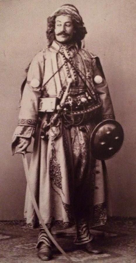 A Kurdish Noble by Pierre De Gigord, 1865.