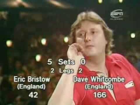 Eric Bristow v Dave Whitcombe - 1986 Embassy Darts - Final Leg