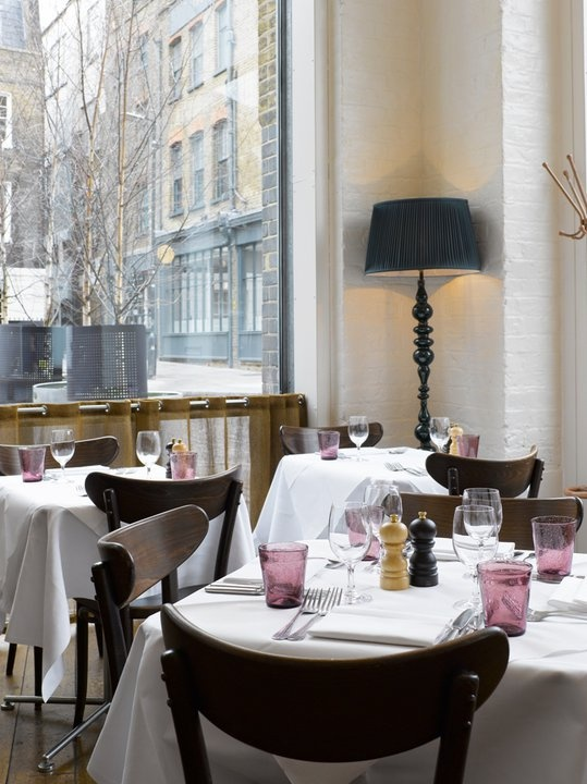 Bistrot Bruno Loubet at The Zetter Hotel | London.....