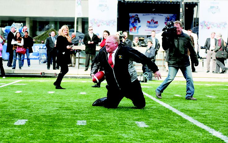 #robford Since his time on Carleton University's football team, #MayorRobFord has had a passion for football. While a councillor he started the Don Bosco Secondary School Eagles team in 2002, and has kept coaching despite promising to stop if elected in 2010. Scroll through to see some of the highlights of his football career. #torontorobford