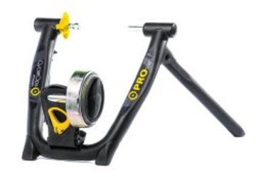 Just because you don't want to go outside in inclement weather doesn't mean your fitness has to take a hit. #CycleOps Magneto Pro Indoor #Cycle Trainer