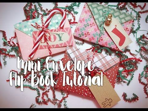 Mini Envelope Flip Book Tutorial - YouTube
