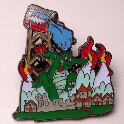 Grateful Dead Hat Pins   Fire On The Mountain Grateful Dead Hat Pin   TreeThugger Shop