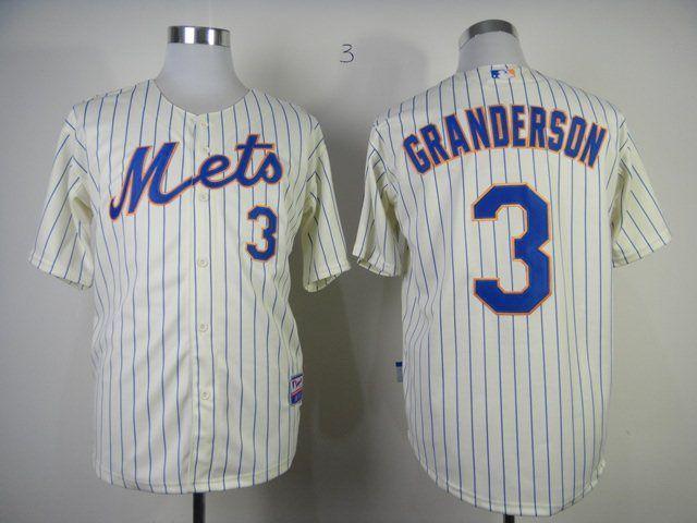 size 40 50740 13a39 MLB New York Mets 3 granderson cream jerseys,cheap mlb ...