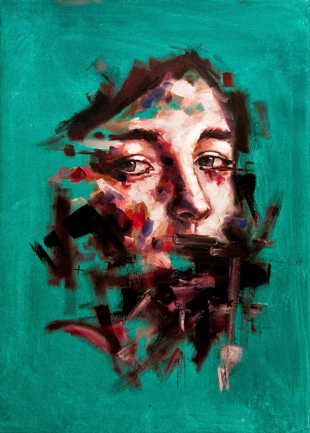 paintings by Davide Cambria