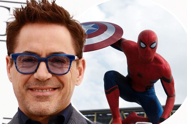 Robert Downey Jr. says new Spiderman actor Tom Holland is...: Robert Downey Jr. says new Spiderman actor Tom Holland is… #TomHolland