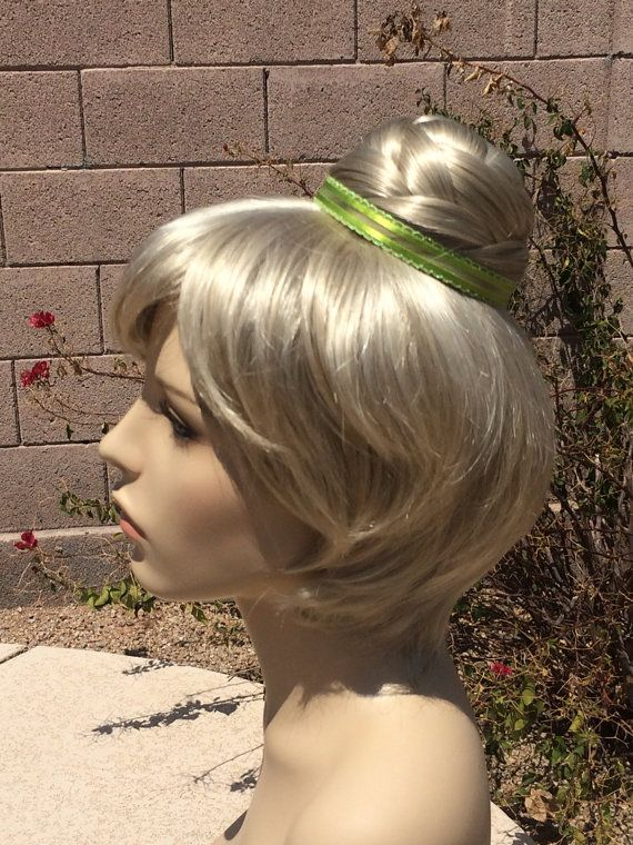 Couture Tinkerbell Green Fairy Wig by RoyalEnchantments on Etsy
