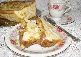 W Mojej Kuchni Lubię.. : pyszny pieczony sernik z suszonymi morelami na bis...