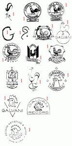 марки и клейма итальянская керамика FRIULI VENEZIA GIULIA
