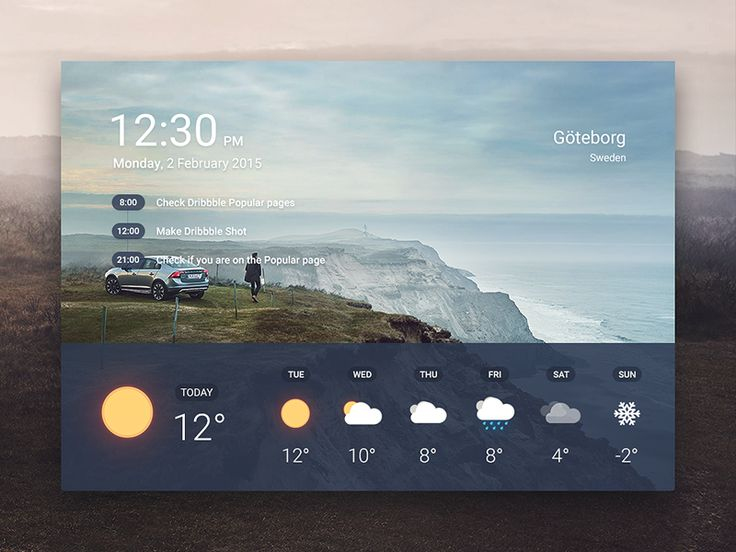 Another shot with my weather icons. Made for training.