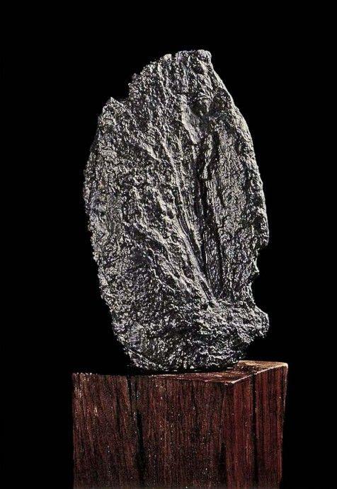 jean fautrier | Jean Fautrier « Otage », 1943. Plomb. Sourcing image : « 1945-1949 ...