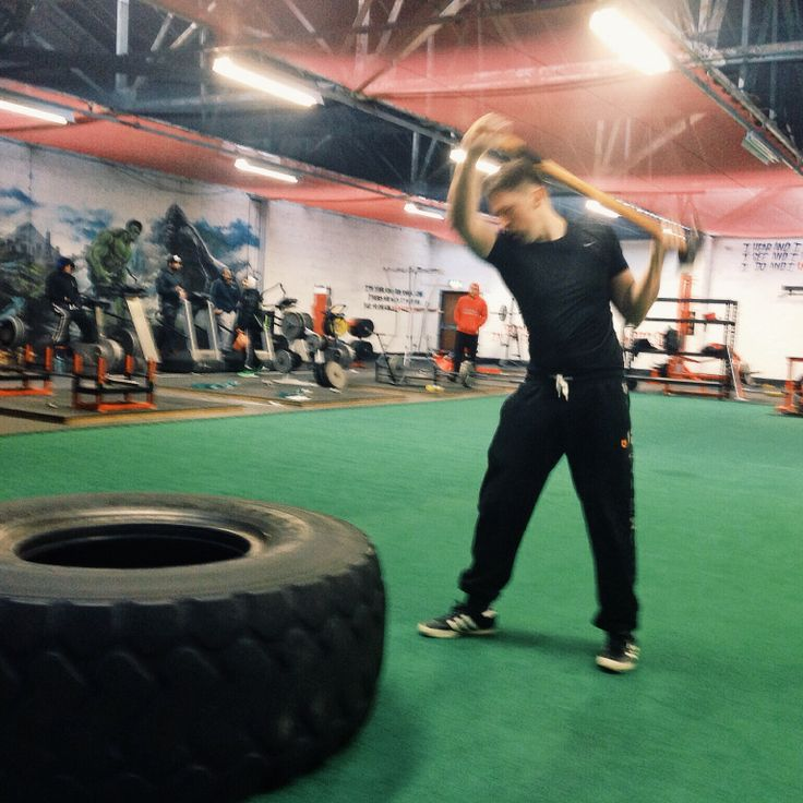 Creative Ideas Leicester: Sledgehammer Smash Intervals, Conditioning Workout At The