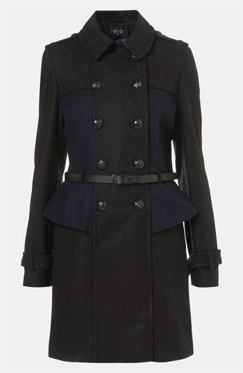Topshop Utilitarian Coat Beautiful Dress| http://beautifuldresscollections.blogspot.com