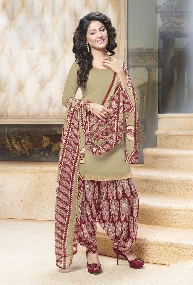 Bollywood Pakistani Partydress Ethnic Salwar Suit Indian Designer Anarkali Rani #KriyaCreation #PatialaSuit