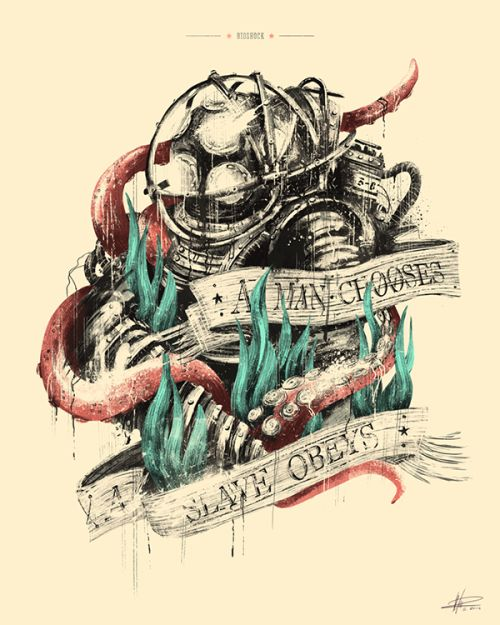 bioshock tattoo - Google Search                                                                                                                                                                                 More