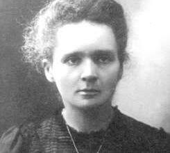 Maria Skłodowska- Curie, wybitna przedstawicielka dziedziny chemii. Odkryła rad i polon. Zajmowała się też badaniami onkologicznymi. Dwukrotna noblistka w dziedzinie chemii i fizyki.