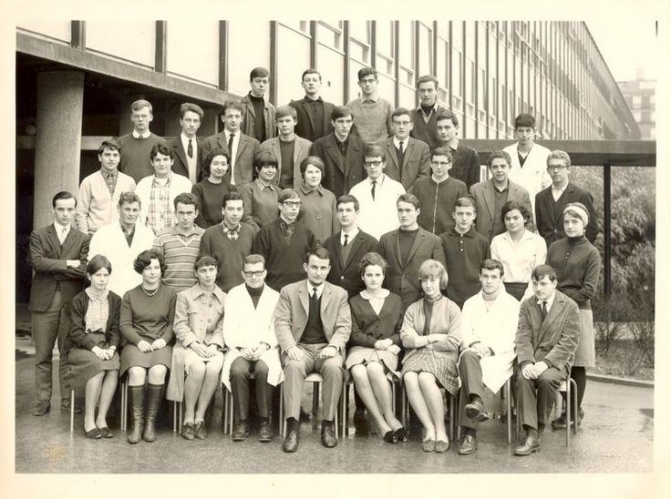 Photo de classe Math Sup 2 - année 1965-66 de 1965, Lycée Paul Valery