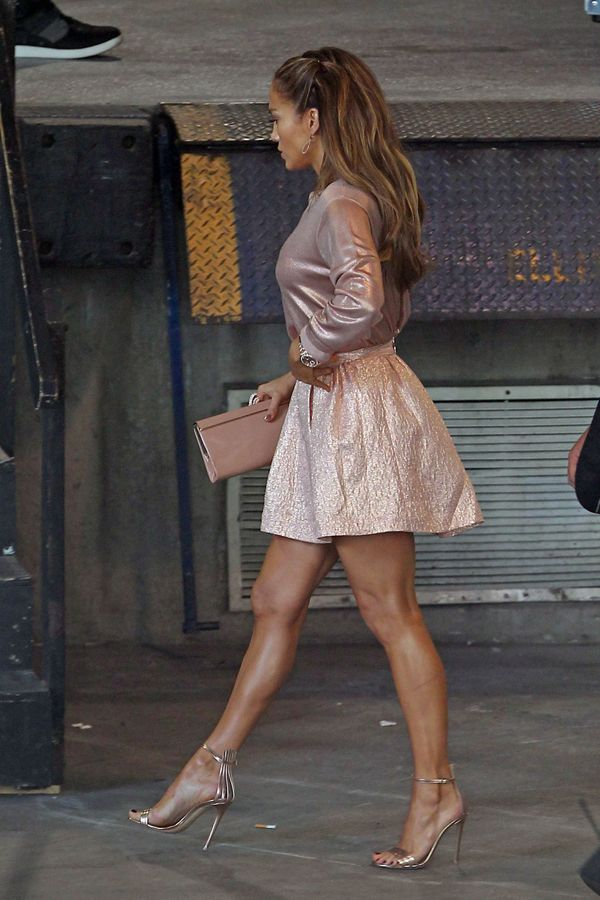 J.Lo heads to American Idol auditions on Dec. 18, 2013. Pacific Coast News -Cosmopolitan.com