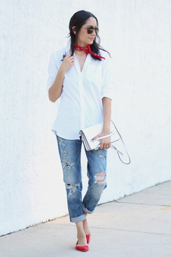 Classic Look | Boyfriend Jeans and White Shirt | Minimal Look