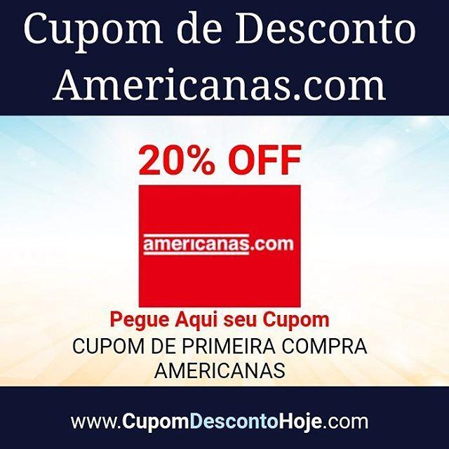 Cupom de Desconto 20% OFF Americanas.com    https://www.cupomdescontohoje.com.br/loja/americanas.com/6243    CUPOM DE PRIMEIRA COMPRA AMERICANAS    #americanas.com #cupom  #primeira #compra #americanas  #cupomamericanas.com  #voucheramericanas.com #descontoamericanas.com  #americanas.com #cupomdescontoamericanas.com #cupom #cupomdesconto #cupomdescontohoje  #cupomdedesconto #voucher #economize #ofertas #promocao  #promocaododia #love #amo #amazing #adoro  #followme #follow