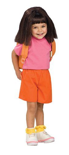 Child's Wig Dora the Explorer -- Click image for more details.