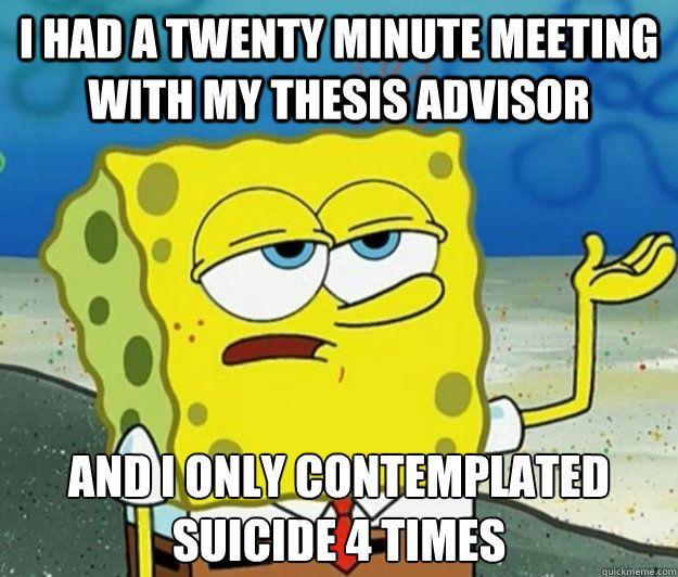 Advisor thesis