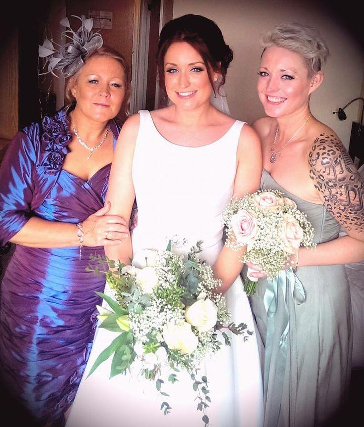 Brides mum, Bride Rachel and Rachel's sister