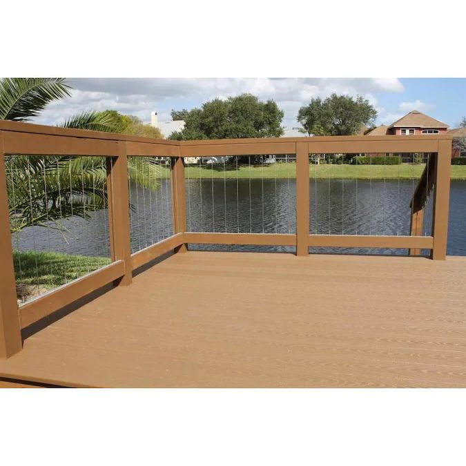 DOLLE Insta-Rail 2-ft Stainless Steel Cable Rail Kit Lowes ...