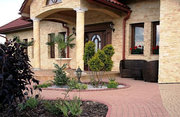 ogrodzenie wokół domu kamień i piaskowiec - Szukaj w Google