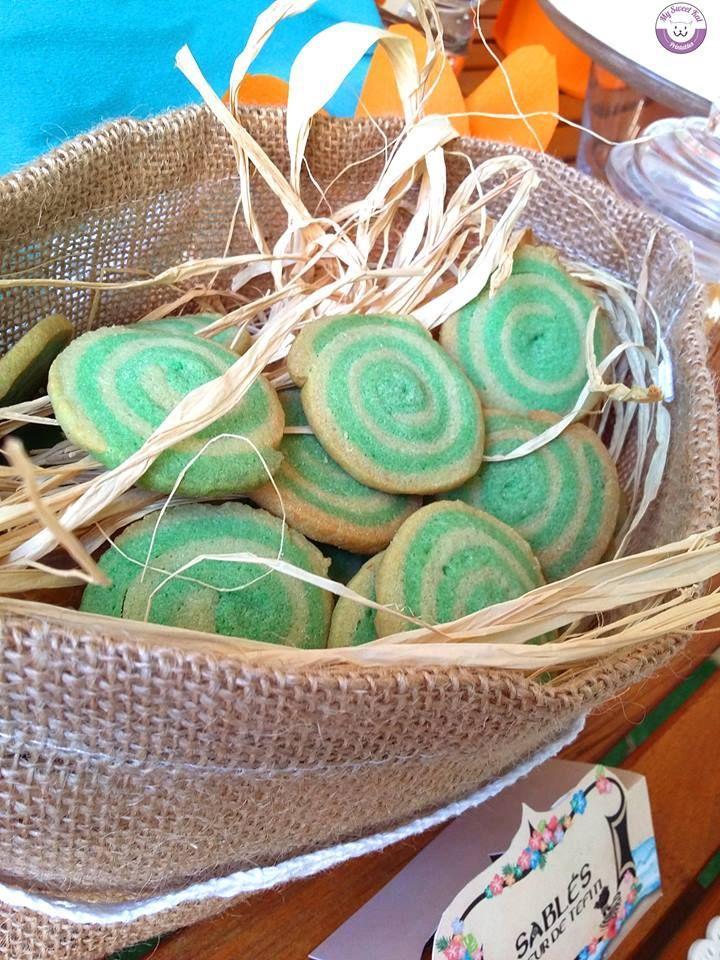 Coeur de TeFiti cookies anniversaire Vaiana