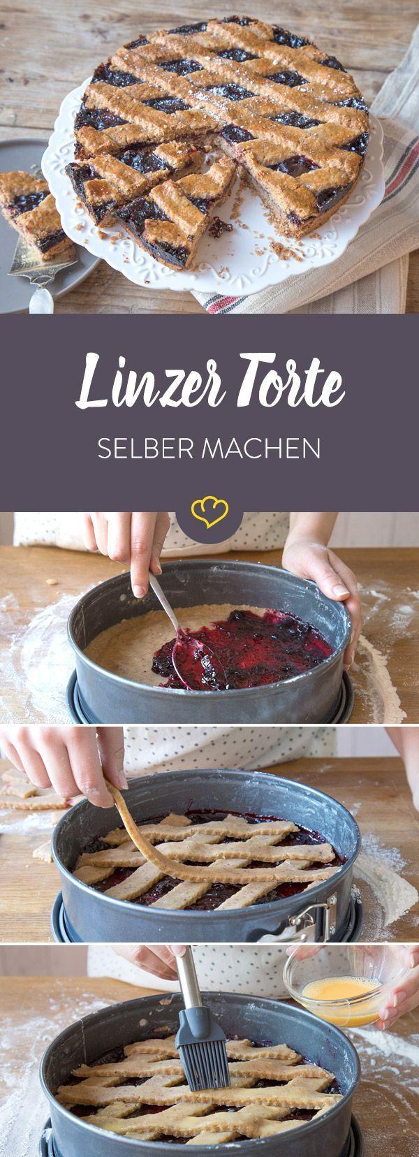 Linzer Torte heißt zwar Torte, ist aber eher ein Kuchen. Ob traditionell aus Mürbeteig oder schnell mit Rührteig: Sie schmeckt herzerwärmend gut.