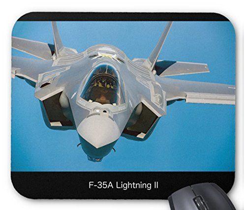 ステルス戦闘機 F-35 のマウスパッド:フォトパッド(世界の戦闘機シリーズ) (A)