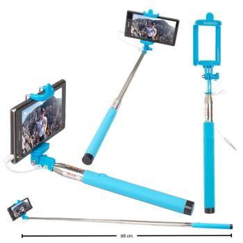 Renkli Kafalı Selfie Çubuğu