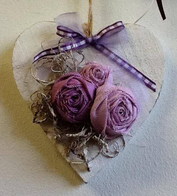 Lovely heart hanger