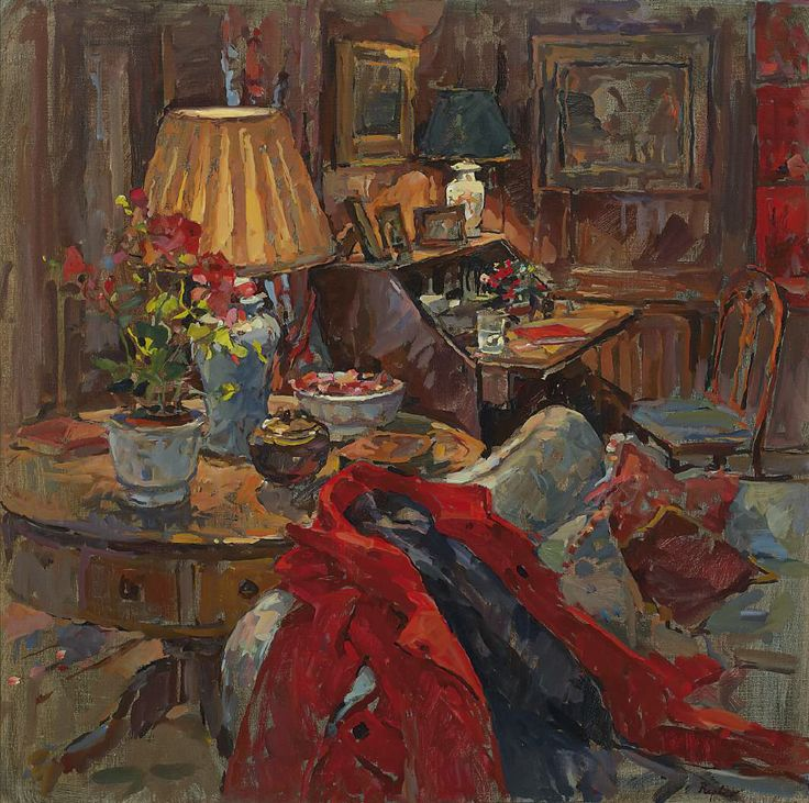 Susan Ryder, RP NEAC (English) 'The Red Coat'