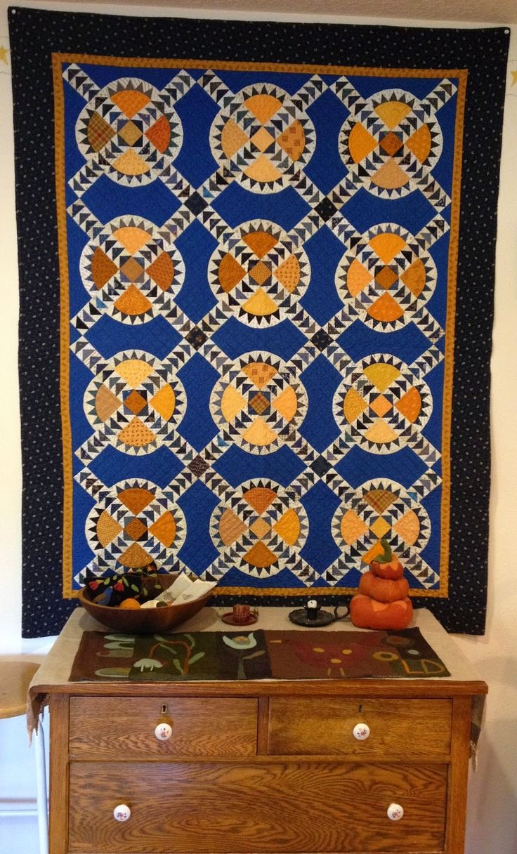 Humble Quilts: Autumn Has Arrived at My House