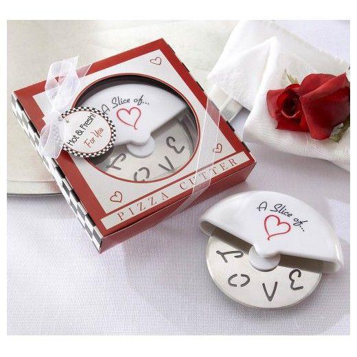 12ct Kate Aspen Slice of Love Pizza Cutter : Target