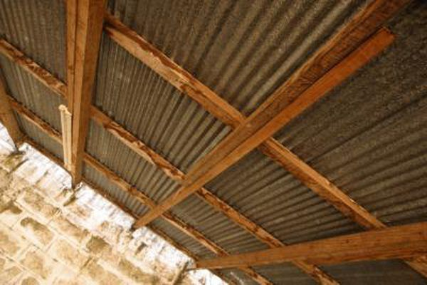How To Stop A Leaking Tin Roof Galvanized Roofing Leaking Roof Metal Roof