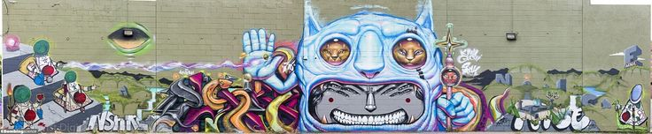 Denver / Walls Graffiti. Feast your eyes with graffiti arts from Bombing Science!