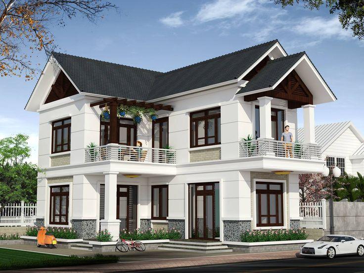 View 2: Nhà phố 2 tầng đẹp, hiện đại ở Phú Thọ