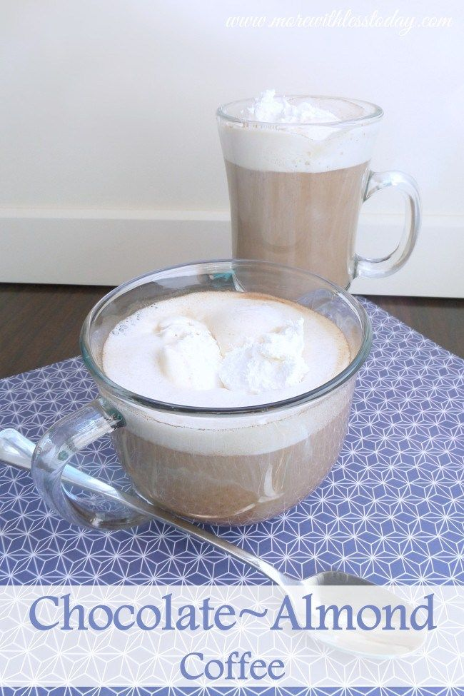 ... delicious Chocolate Almond Coffee recipe is so easy and inexpensive