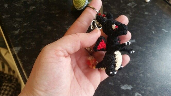 DRAGON KEYRING