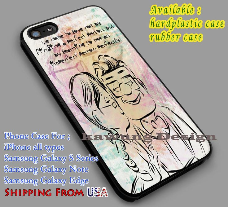 Carl and Ellie Up Quote iPhone 6s 6 6s  6plus Cases Samsung Galaxy s5 s6 Edge NOTE 5 4 3 #cartoon #disney #animated #up dL4