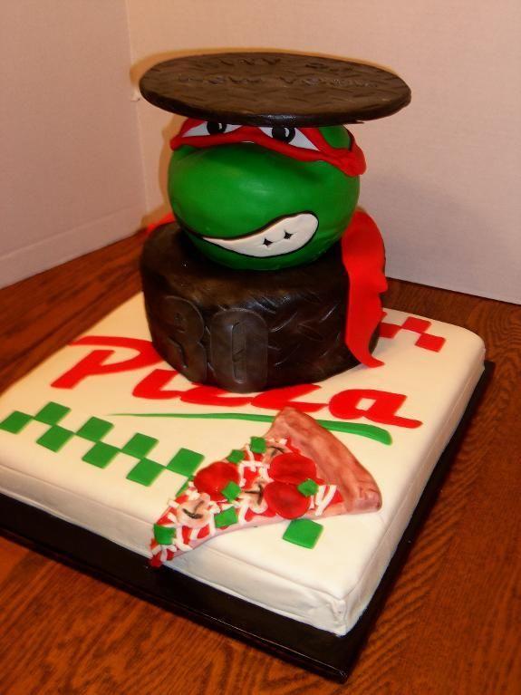 Teenage Mutant Ninja Turtle Head Cake Pan