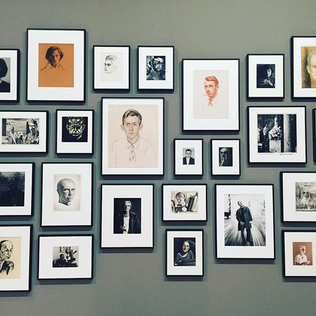 Portraits of artists, by artists (including some #selfies). #WhitneyPortraits